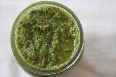 Nutmeg Nanny » Garlic Scape Pesto