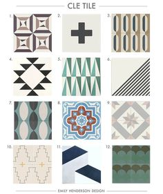 Where To Buy Cement Tiles (Emily Henderson)