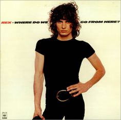 REX album 'Where Do We Go From Here?' - which is Rex Smith is his hard rock days with a lot of screaming.His hair was darker then, like late '70s. REX opened for Ted Nugent and Van Halen .