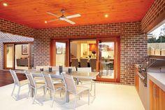 Austral Bricks Melbourne collection in Auburn colour range. Available in select states. Auburn, Melbourne, Bricks, Traditional, Furniture, Color, House Ideas, Range, Entertaining