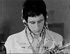 THIS IS WHY WE CAN'T HAVE NICE THINGS (gif) Pinball Wizard, John Entwistle, Keith Moon, Just Beautiful Men, British Invasion, Everybody Else, Dark Eyes, Lady And Gentlemen, Classic Rock