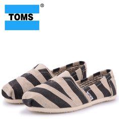 Fabulous Zebra Toms Canvas Shoes
