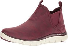 SKECHERS Women's Flex Appeal 2.0 Burgundy Loafer -- Read more reviews of the product by visiting the link on the image.