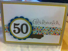 Stempelelfe: Zum 50. Geburtstag, Sammelbestellung und Bändershare