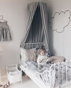 Baby Bedroom, Kids Bedroom, Ikea Interior, Marley Rose, Toddler Rooms, Little Girl Rooms, Room Themes, Kids Decor, Hygge