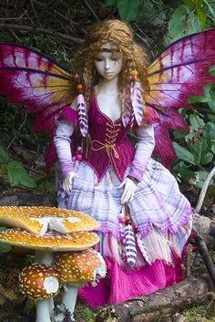 Spring Fairy Doll