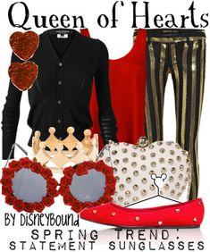 1000 images about Alice in Wonderland on PinterestQueen Of Hearts Disneybound