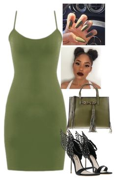"""Green "" by ytmelaniee ❤ liked on Polyvore featuring Rebecca Minkoff"