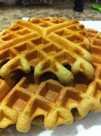REVISMS: Delicious Oat Flour homemade Waffles