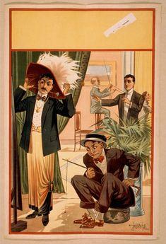Hypnotism Posters (ca. 1900) | The Public Domain Review