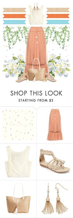 """""""Sweet Girl's Weekend - 140516"""" by vixen-vixen ❤ liked on Polyvore featuring Chloé, Ellen Tracy, INC International Concepts, LC Lauren Conrad and River Island"""