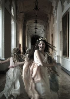 paminamozartienne:    Still from Aleksandr Sokurov's Russian Ark, notable for being filmed in a single, 96 minute-long take. No breaks.  Traversing 300 years of Russian history and culminating  with a spectacular ballroom dance sequence, it is an entrancing film.