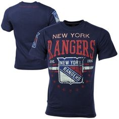 New York Rangers Big Time T-Shirt - Navy Blue Time T 48b7cf09444