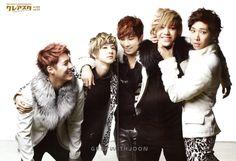 MBLAQ ♡ Seungho, G.O, Lee Joon, Cheondung, and Mir