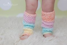 PATTERN  Toddler & Baby Leg Warmers 4 sizes Slouchy by swellamy, $4.99