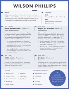 contemporary resumes template - Contemporary Resume Templates