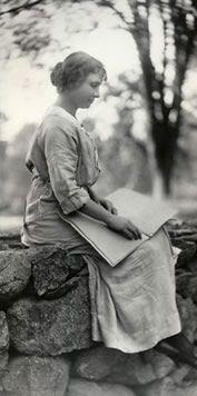Helen Keller I just love and admire her