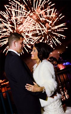 Celebrate your new life together with fireworks at Disney's Fairy Tale Weddings!