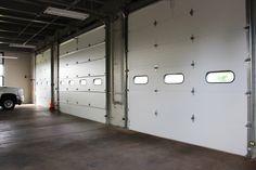 Interior shot of the Raynor TC200 Overhead Doors