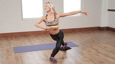 Get Long and Lean Dancer& Legs With This Exercise: Take a moment to learn a graceful and effective leg exercise from Simone De La Rue founder of Body by Simone - her dance-based workouts keep at least half of Hollywood if not more in sculpted form. Fitness Goals, Fitness Tips, Fitness Motivation, Fast Weight Loss, Healthy Weight Loss, Losing Weight, Dancer Legs, Fat Burning Workout, Workout Videos