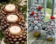 Voici 12 idées de bricolages de Noël à faire avec des pommes de pins. Cette activité est à faire à la maison ou dans les garderies scolaires. Elle ne nécessite que très peu d'outils et