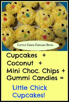 Little Chick Cupcakes - Thrifty NW Mom