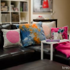 Kreo Ice Dyed Pilow