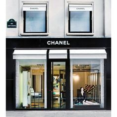 Chanel opens pop-up beauty boutique in Paris ❤ liked on Polyvore featuring backgrounds, chanel and other