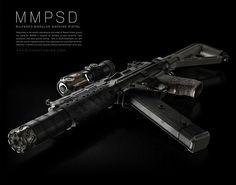 Ninja Weapons, Sci Fi Weapons, Weapons Guns, Guns And Ammo, Robot Concept Art, Weapon Concept Art, Steampunk Weapons, Military Guns, Military Art
