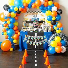 This is any young boy or girls dream! . . . #racecar #vroomvroom #kidsparty #birthdayparty #partywithunicorns 9 Year Old Girl Birthday, Girls Birthday Party Games, 4 Year Old Girl, Birthday Activities, Race Car Party, Girls Dream, Boy Or Girl