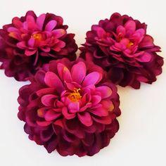 1 GIANT Purple Creamy Dahlia Flower 8.3 Artificial Rustic Chrysanthemum Silk autumn Flower Autumn Wedding  Millinery Flowers Bouquet Filler