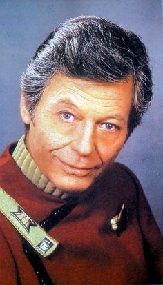 """Dr. Leonard McCoy. """"Bones""""  He has always been my favorite."""