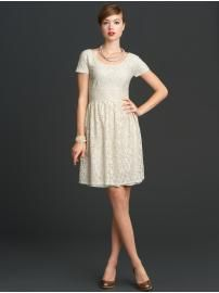 I recently started watching Mad Men and am loving the styles. The Banana Republic Mad Men line has some adorable pieces! Mad Men, White Lace, White Dress, Inexpensive Wedding Dresses, Rehearsal Dinner Dresses, Retro Mode, Mademoiselle, 1960s Fashion, Women's Fashion