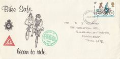 (74327) CLEARANCE GB Cycling Proficiency FDC Mount Brownie Guildford 2 Aug 1978
