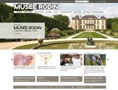 Musée Rodin à Paris : création et réalisation du site internet #Minitl   www.minit-l.com