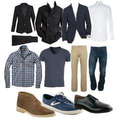 Men27s wardrobe essentials image by lenasblend on Photobucket