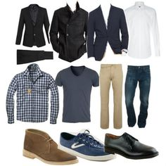 Top Ten Wardrobe Essentials for Men - Lesson in Fashion, Lifestyle