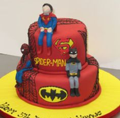 Every boy loves super hero's