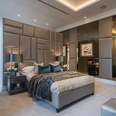 Most of the colors are subordinate and the textures emphasis the space and the ceiling emphasizes the height and how big the space is