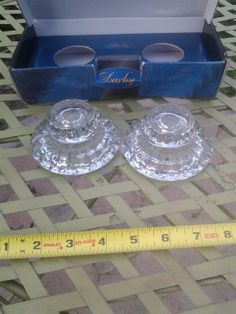 Darby Crystal Candleholder Set by EastIdahoCompany on Etsy, $30.00