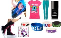 A fashion look from June 2012 featuring pink t shirt, Emilio Pucci and black sneakers. Browse and shop related looks. Scene Style, My Style, Scene Hair, Black Sneakers, Emilio Pucci, I Dress, Emo, Goth, Fashion Looks