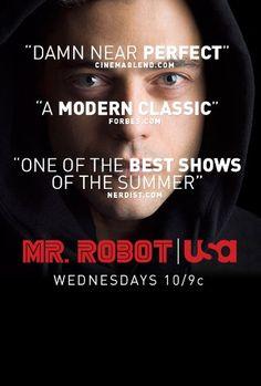Christian Slater and Rami Malek in Mr. Christian Slater, Best Series, Tv Series, Series Movies, Mr Robot Season 2, Robot Tv, Robot Series, Social Anxiety Disorder, Financial Accounting