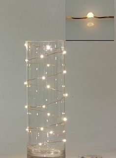 How do you make the square light in the corner? Can you use copper tape to hide any wires on the glass itself? If not hardwired into the wall, where can you hide the battery pack and excess wire?