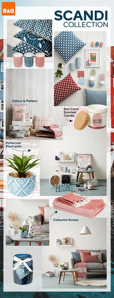 Introducing B&Q's NEW Scandi decor collection - 'Hygge', 'Lagom' or 'Lykke', whatever your vibe, our new Scandinavian collection is all you need to create simple Scandi style this season. Fresh tones and simple lines are key attributes when it comes to nailing this trend.