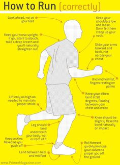 How to run correctly