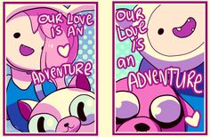 Adventure Time Valentine Time by *tabby-like-a-cat on deviantART