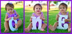 one year old birthday portraits
