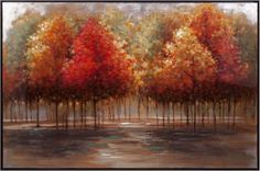 Trisha Yearwood Frame Persimmon Oil Painting Wall Art