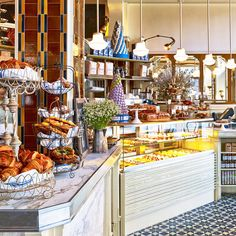 New York's Chicest Bakeries ~ What could be a better way to start the morning or end the afternoon than at one of New York's fabulous bakeries.