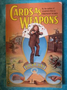Rare Collectible Book Cards as Weapons Magic Book by BetterWythAge, $275.00